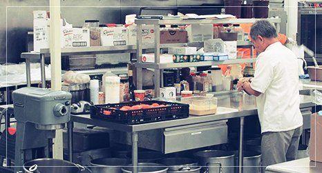 The Good Samaritan Inn kitchen