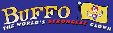 Buffo the World's Strongest Clown logo