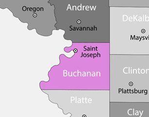 Bauman Painting service area map