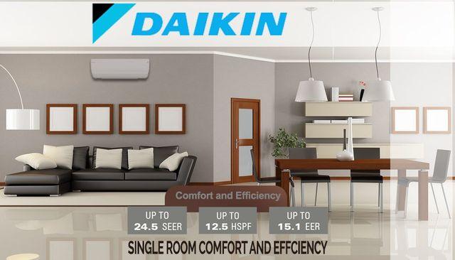 Daikin Ductless | Ventilation | Northampton | Greenfield MA