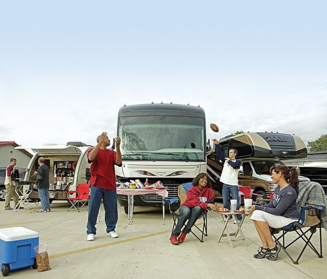 Rv Rentals For Tailgating Football Tailgating Humble Tx