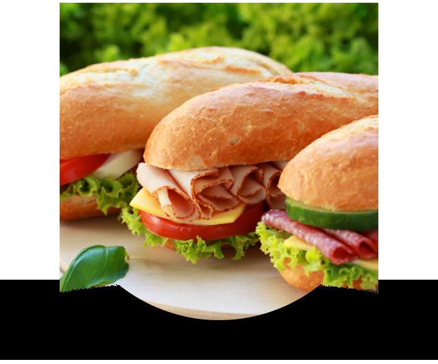 Delicious subs