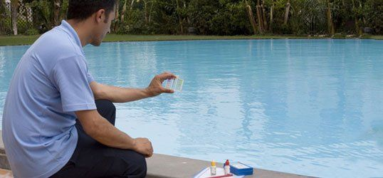Chemical pool cleaning
