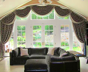 Custom Designs With Window Treatment