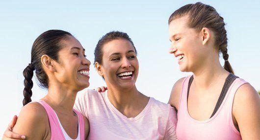 Happy ladies