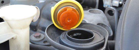 Radiator cap replacement