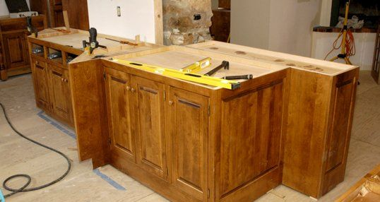 Cabinets work