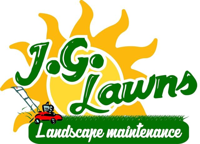 JG Lawns - logo