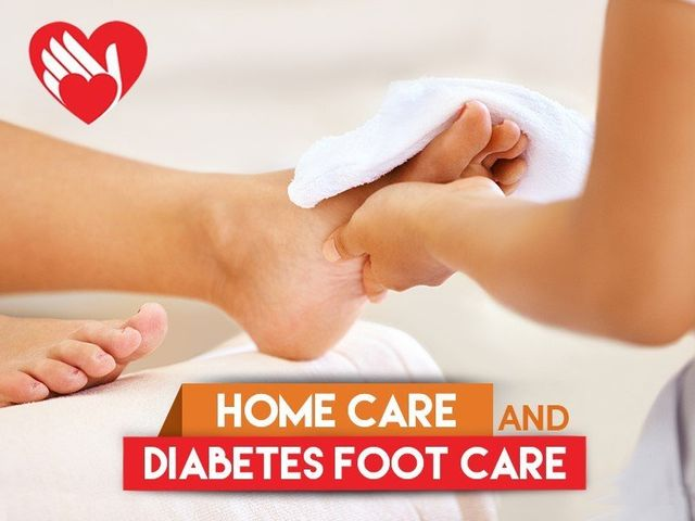 Home Care And Diabetes Foot Care