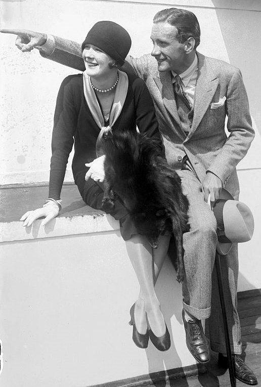 Vintage couple photograph