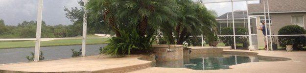 Pool screen