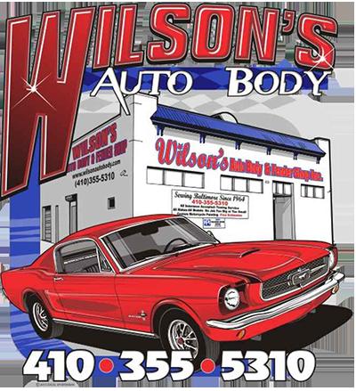Wilson's Auto Body logo