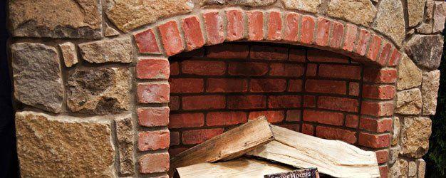 Indoor and outdoor fireplaces supplies novi mi for Building an indoor fireplace