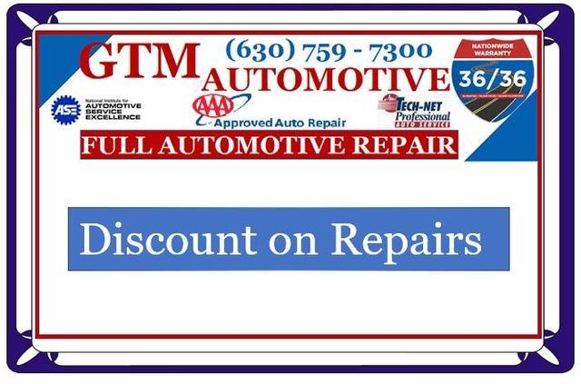 Auto Shops Near Me >> G T M Auto Repair Shop Is Open Now Near Me In Bolingbrook Il