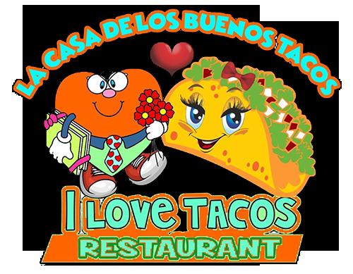 I Love Tacos Logo