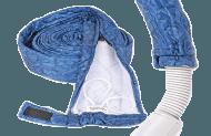 Padded Zippered Hose Sock Cover