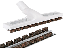 12-inch Deluxe Hard Floor Brush with Wheels