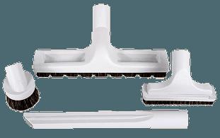 4-Piece Central Vacuum Accessory Set