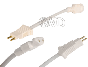 7-inch Adapter cord to lengthen power brush cord