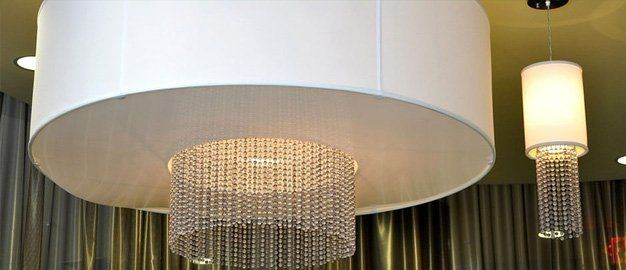 choose from a wide variety of lampshade options and materials - Unique Lamp Shades