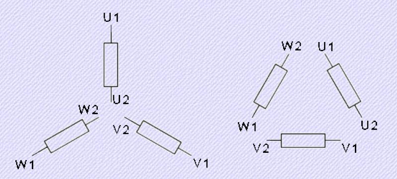 iec nomenclature - three phase - single voltage
