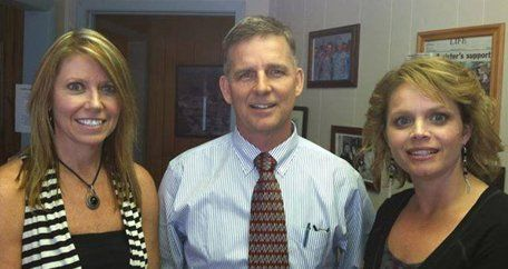 Denise Cone, Bill Sanders and Deanna Prescott
