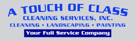 A Touch of Class Cleaning  - Logo