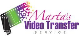 Marta's Video Transfer Service - logo