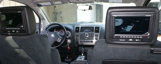 In-dash touchscreen DVD players
