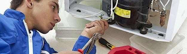 Refrigeration unit repair