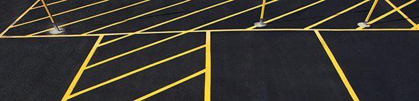 Parking lot strip