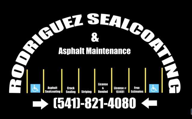 Rodriguez Sealcoating & Asphalt Maintenance - logo