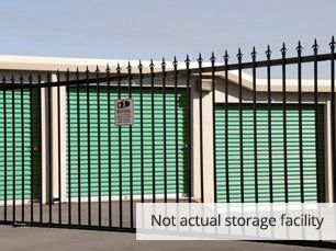 Secure and Fenced-in Storage Units