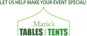 Marie's Tables & Tents - Logo