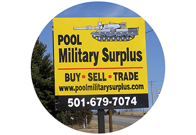 Pool Military Surplus | Military Supplies | Greenbrier, AR