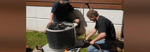 Air conditioner system maintenance