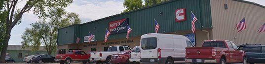 Hoyt's Truck Center Building