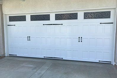 heritage doors maintain the traditional styling you seek in a garage door with heavy gauge durable steel available in over 150 designs - Garage Door With Door