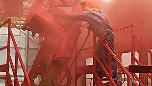 Vehicle powder coating