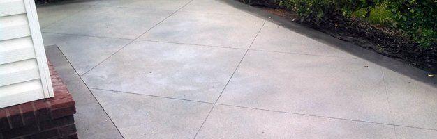 Driveway Concrete Area