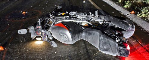 Motorcycle collision