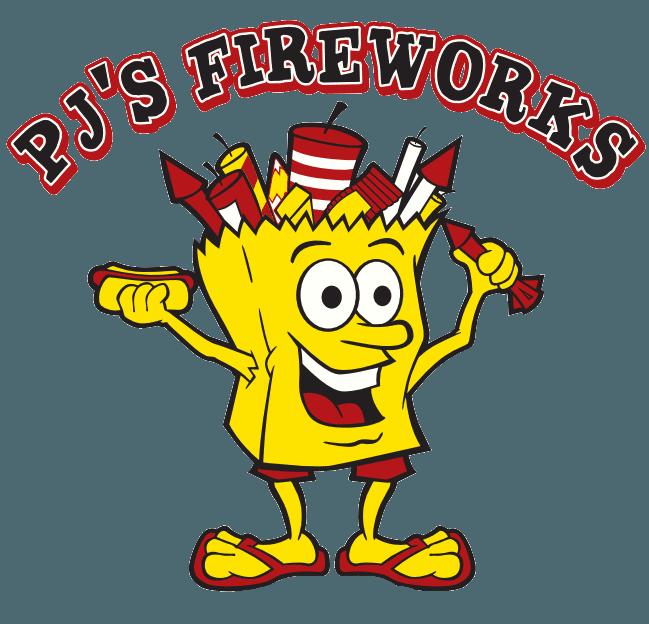 PJ's Fireworks - Logo