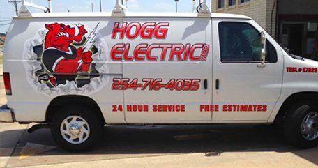 HOGG service truck