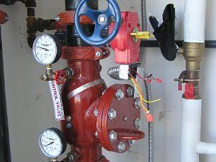 Industrial backflow