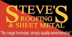 Steve's Roofing & Sheet Metal-Logo