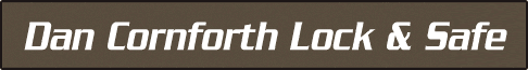 Dan Cornforth Lock & Safe Logo