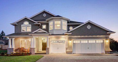 Gutter house