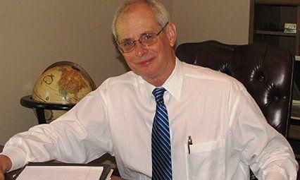 Richard at Desk