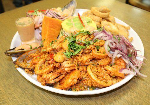 Mistura Peruana Fish And Seafood Menu Woodhaven Ny