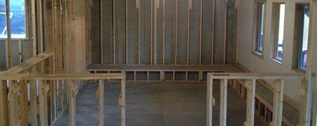 Full Basement Framing Basement Music Room La Vista Ne